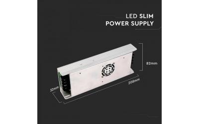 Napájací adaptér kovový SLIM 350 W 12 V IP20