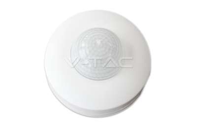 Pohybový senzor na strop biely