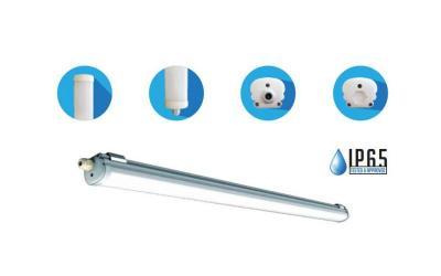 LED vodeodolná lampa ECONOMY 150 cm 48 W denná biela