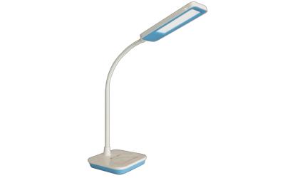 LED stolná lampa 7 W denná biela modrá stmievateľná