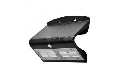 LED solárne svietidlo 6,8 W denná biela čierne