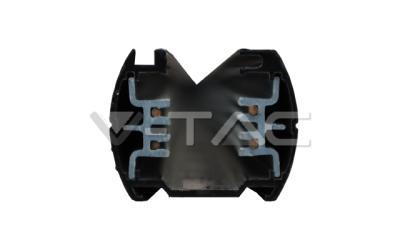 Lišta čierna 3-fázová 1 m (4-track)