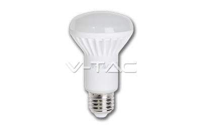 LED žiarovka E27 reflektor R63  8W denná biela