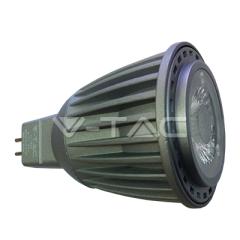 LED bodová žiarovka GU5.3 7W, studená biela, COB