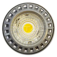Bodová LED žiarovka GU10 6W, COB, teplá biela, 110°, stmievateľná