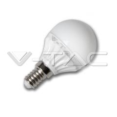 LED žiarovka E14 hruška 4 W studená biela