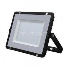 LED reflektor SLIM 300 W studená biela čierny s 5-ročnou zárukou