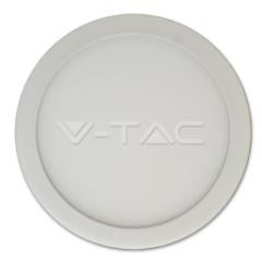 LED panel prisadený kruhový 6 W SLIM denná biela biely