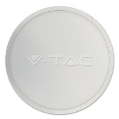 LED panel prisadený 18 W SLIM denná biela kruhový