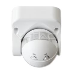 Nástenný pohybový senzor biely