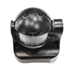 Infračervený pohybový nástenný senzor čierny