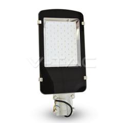 LED pouličné svietidlo 50 W SLIM studená biela A++