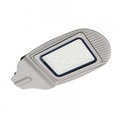 LED pouličné svetlo 100 W denná biela šedé