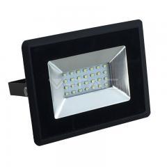LED reflektor 20 W E-series studená biela čierny