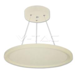 LED panel kruhový závesný, 30 W, denná biela, priemer 40 cm