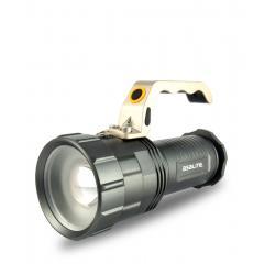 Nabíjateľné ručné svietidlo 10 W kovové