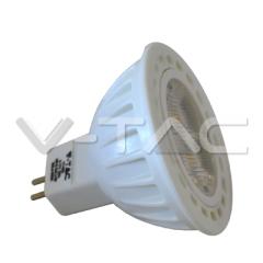 Bodová LED žiarovka GU5.3 4W, SMD, teplá biela, 38°