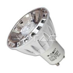 Bodová LED žiarovka GU10 4 W studená biela 40° stmievateľná