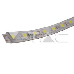 LED pásik 5050, IP65, 60 LED/m, studená biela