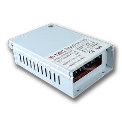 Kovový napájací adaptér pre LED pásiky IP44  - 80 W,
