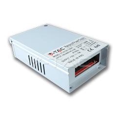 Kovový napájací adaptér pre LED pásiky IP44  - 200 W, 24V