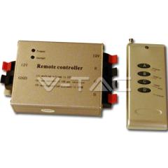 Ovládač na LED pásiky s rádiovým diaľkovým ovládaním, 4 tlačidlá