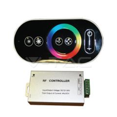Ovládač na LED pásiky s dotykovým rádiovým diaľkovým ovládaním