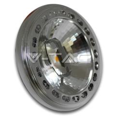 Bodová LED žiarovka GX53 AR111 15 W teplá biela, 20° 12 V