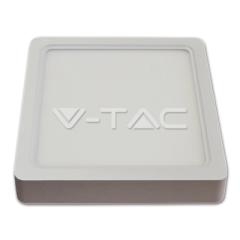 LED panel prisadený štvorcový 22 W denná biela biely hliník