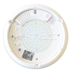 LED svietidlo s mikrovlnným senzorom 16 W denná biela IP65 biele