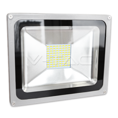 LED reflektor SMD 30W, studená biela