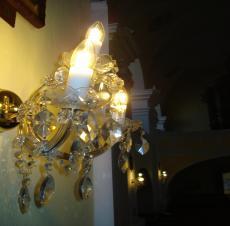 Retro LED žiarovky Rímskokatolícky kostol sv. Štefana Myjava